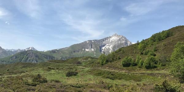 Berge wegverlauf