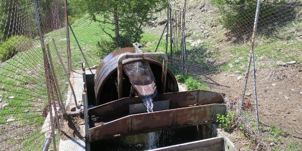Waalwasserreinigungsmaschine
