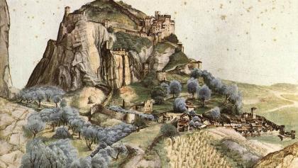 The Castle of Arco in the work Albrecht Dürers (1495)