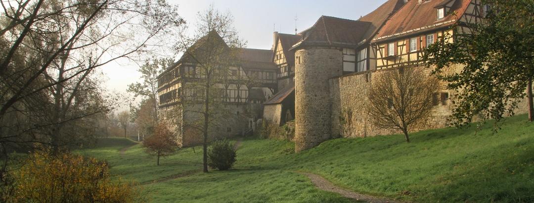 Mitten im Naturpark Schönbuch liegt das Kloster Bebenhausen
