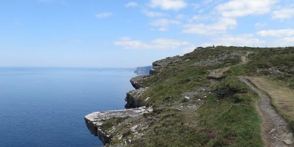 Cliffs of Moher Küstenweg
