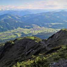 Südblick vom Gildensteig ins Tal