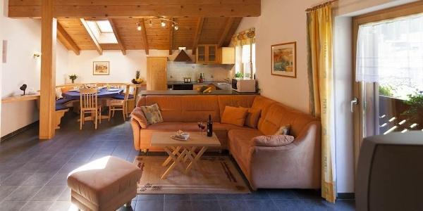 Ferienwohnung 1 - Wohnbereich