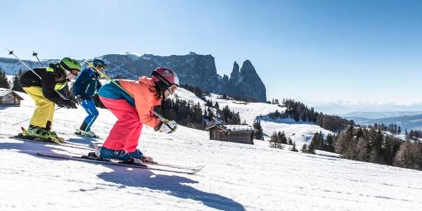 Un'avventura: sci per tutta la famiglia
