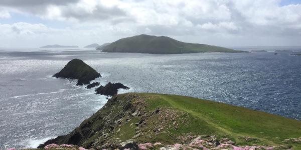 Views to the Blasket Islands