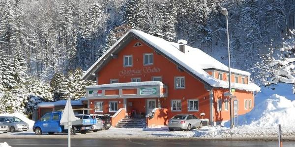 Haus Winterbild