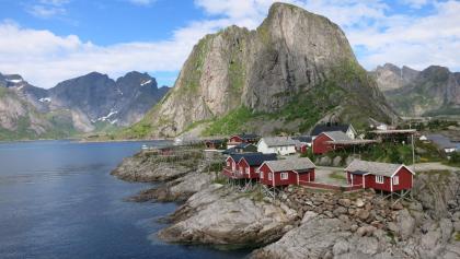 Das typische Bild der Lofoten - Hamnøy