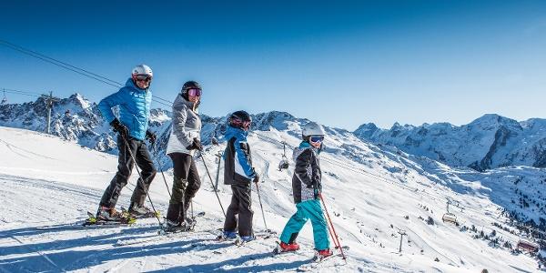 Das Skigebiet Hochzeiger