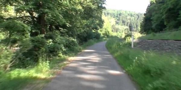 Unternehmen Sie eine virtuelle Radtour auf dem Kyll-Radweg