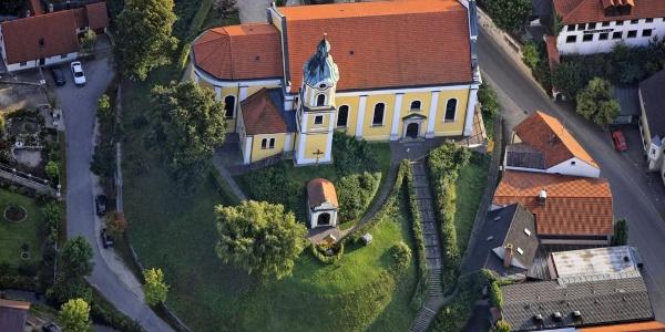 Kirche St. Nikolaus in Siegenburg. auch Dom der Hallertau genannt
