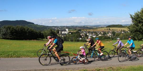 Radfahren auf dem Annaberger Landring