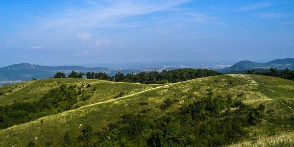 Malé údolia v stráni Nagy-Szénás
