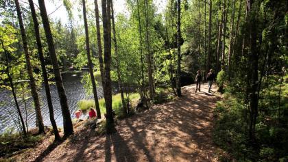 Nuuksio Nationalpark, Finnland