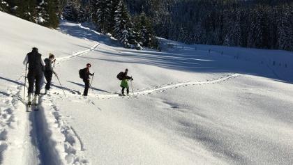 Skitour Oberhahnbaum