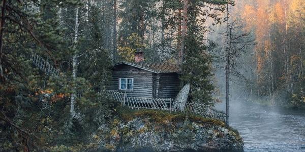Finland_Oulanka_national_park_cottage