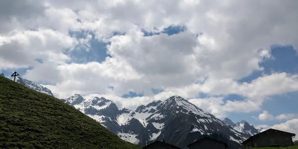 Kurz vor der Hinteren Einödsberg-Alpe