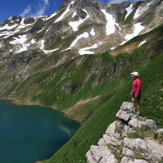 Above the Engeratsgundsee