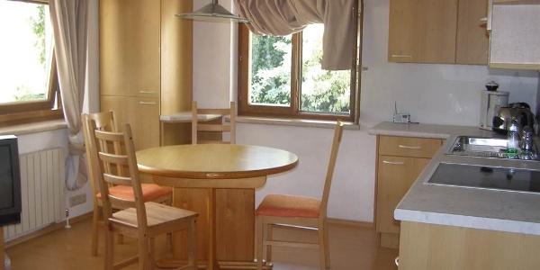 Ferienwohnung Kraft Vandans Wohnküche