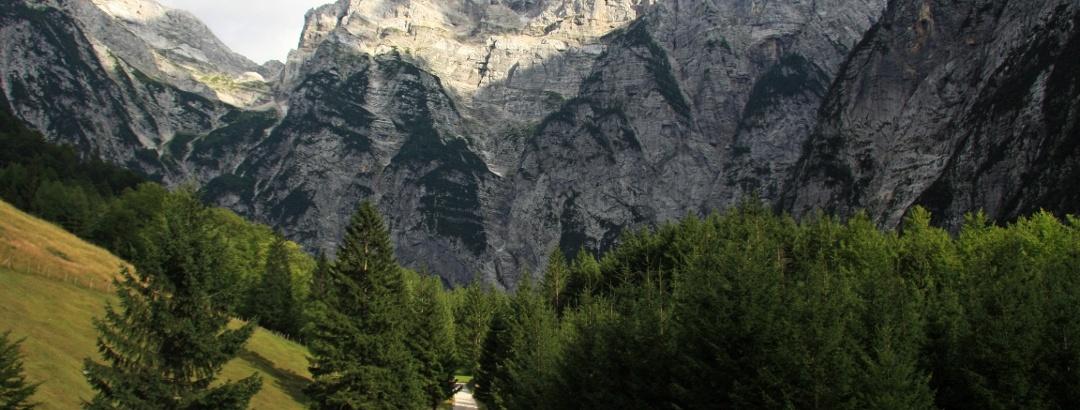 De Zadnjica vallei in