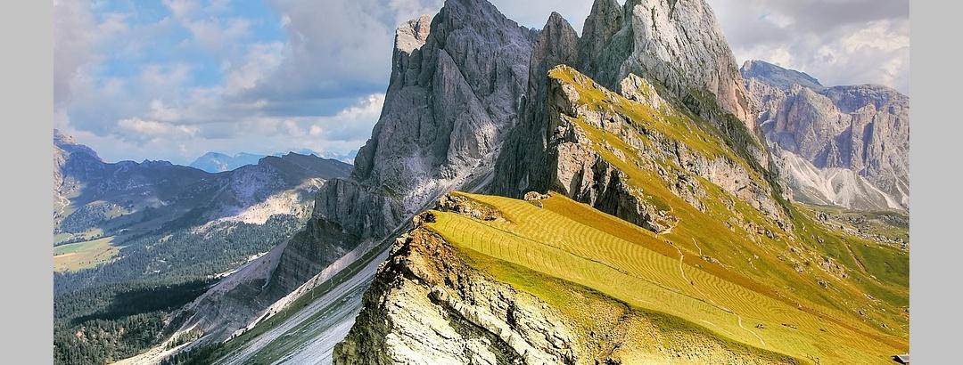 Ein beliebtes Ausflugsziel: die Dolomiten