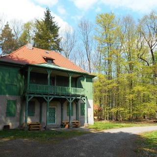 Grünes Haus der Jagdanlage Rieseneck