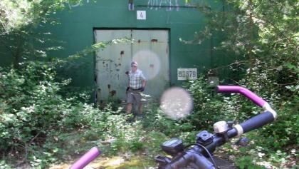Ehemalige Bunkeranlage der NATO