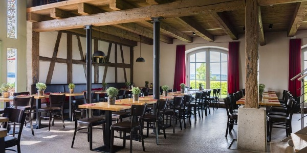 Innenansicht Weinstube Birnauer Oberhof