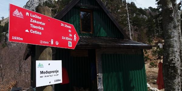 Planinarska kuća Međuprenje