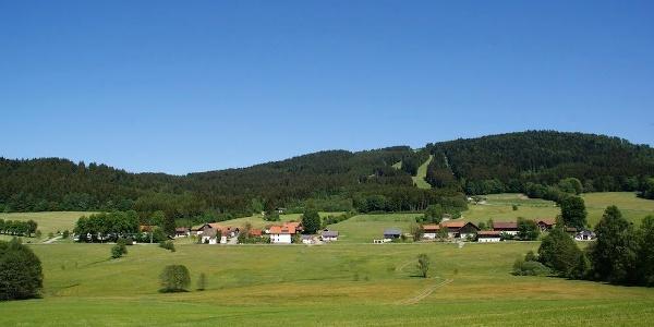 Blick nach Klinglbach und Pröller