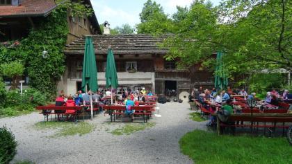 Mühle Katzbrui mit Biergarten