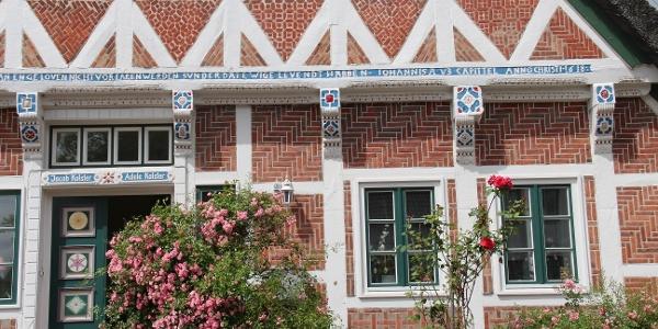 Fachwerk in Steinkirchen im Alten Land
