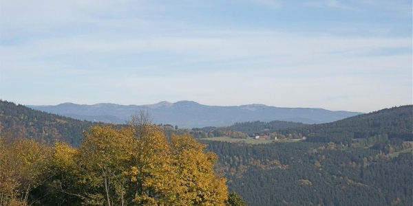 Fernsicht zum Großen Arber von Riedelswald