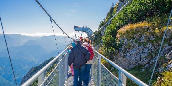 Der 360° Skywalk am Hochkar, ein Erlebnis für die ganze Familie
