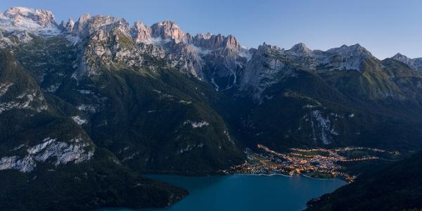 Lake Molveno and Brenta Dolomites