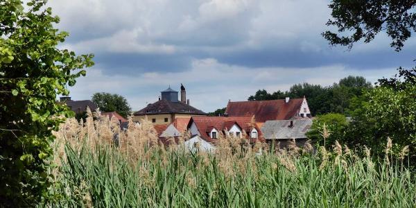 Trabelsdorf mit Schloss und ehemaliger Schlossbrauerei