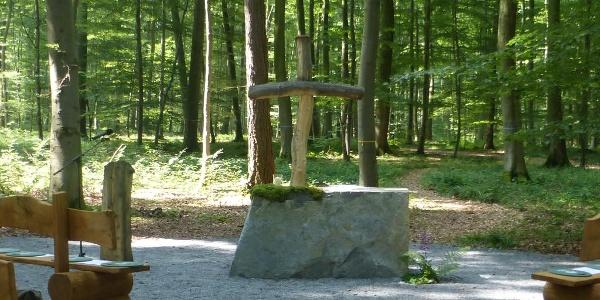 Andachtsplatz des Friedwalds