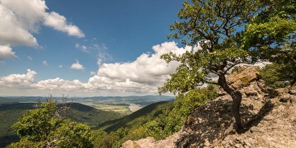 Auf der Spitze der Vadálló-Steine