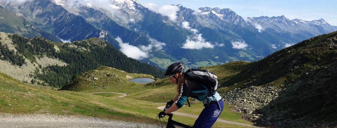 Mountain bike allo Speikboden