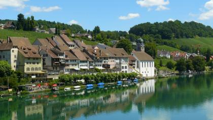 Das mittelalterliche Eglisau am Rhein