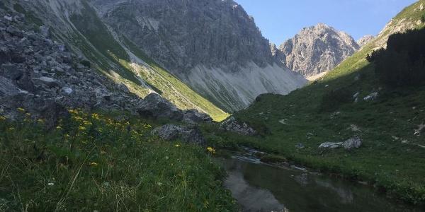 Wanderweg im Kleinwalsertal