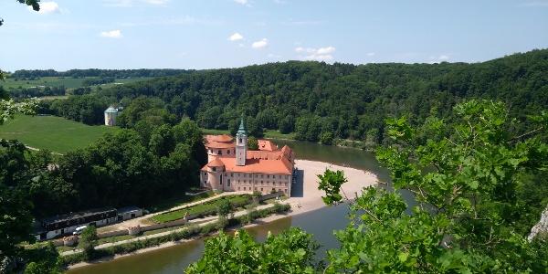 Kloster Weltenburg im Donaudurchbruch