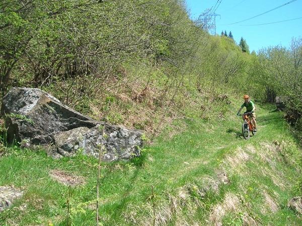 Trail nach Burgnasco