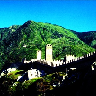 Bellinzona, Castelgrande  - photo: S. Beretta