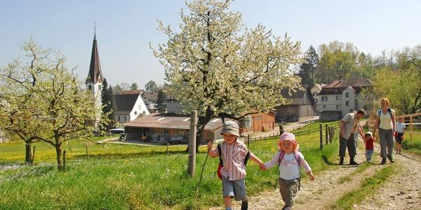 Unterwegs auf dem Mittelthurgauer Schlossweg