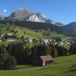 Wildhaus mit dem Schafberg