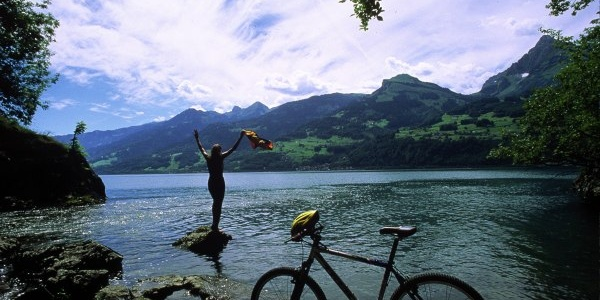 Baden in Walensee
