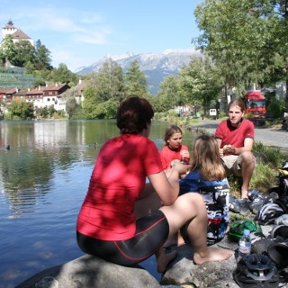 Rast am Werdenberger-See