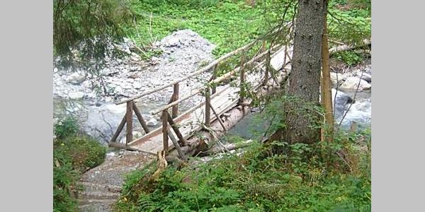 Über die Brücke der Seez