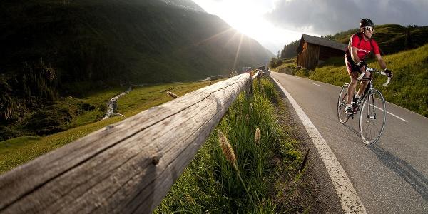 Mit dem Rennrad unterwegs im Prättigau Davos Klosters