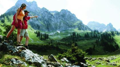 Une de nos plus belles vallées alpines ...